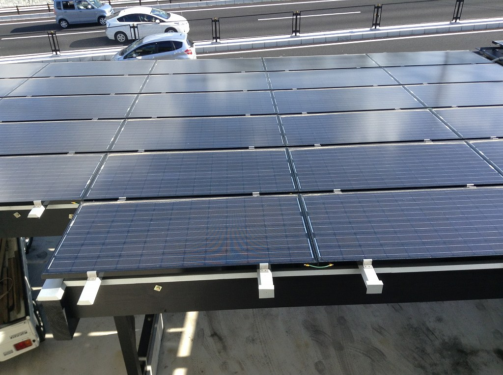 太陽光発電等もグリーン化に貢献
