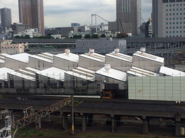 品川駅の車両基地
