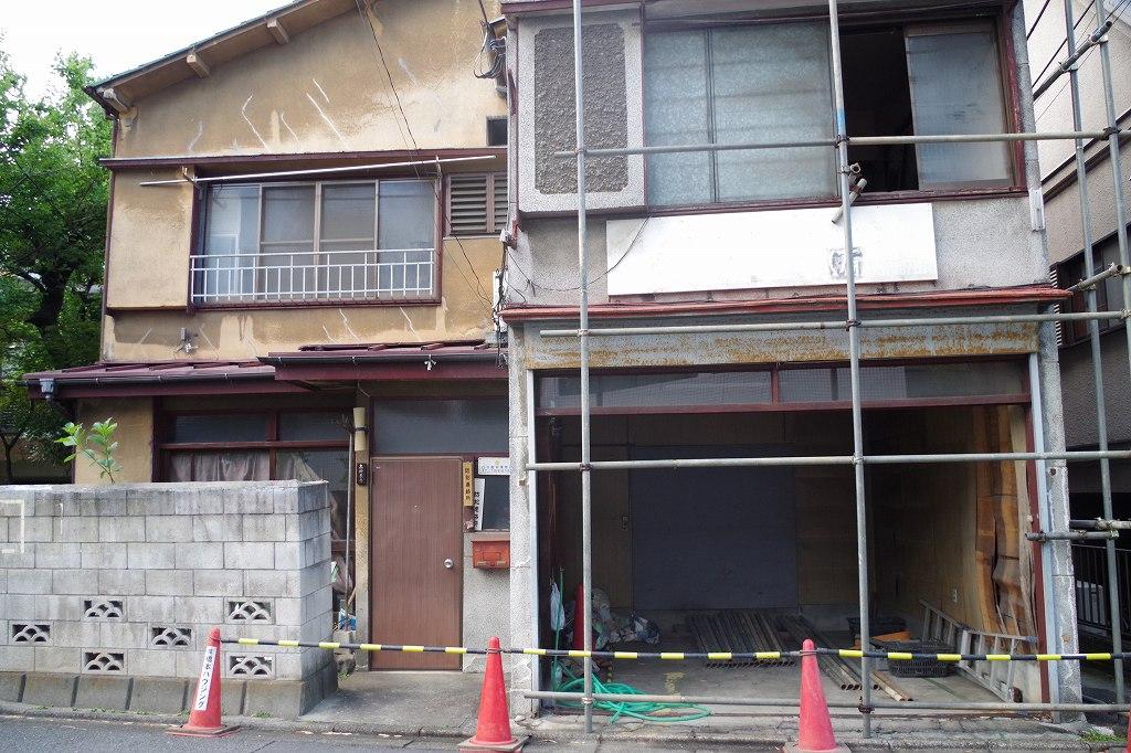 新宿区の相続物件解体