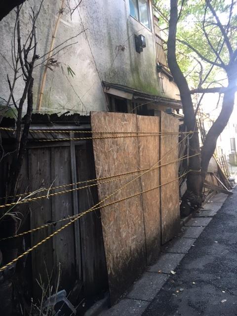 東京都内の空家戸建て(所有者不明土地か…)
