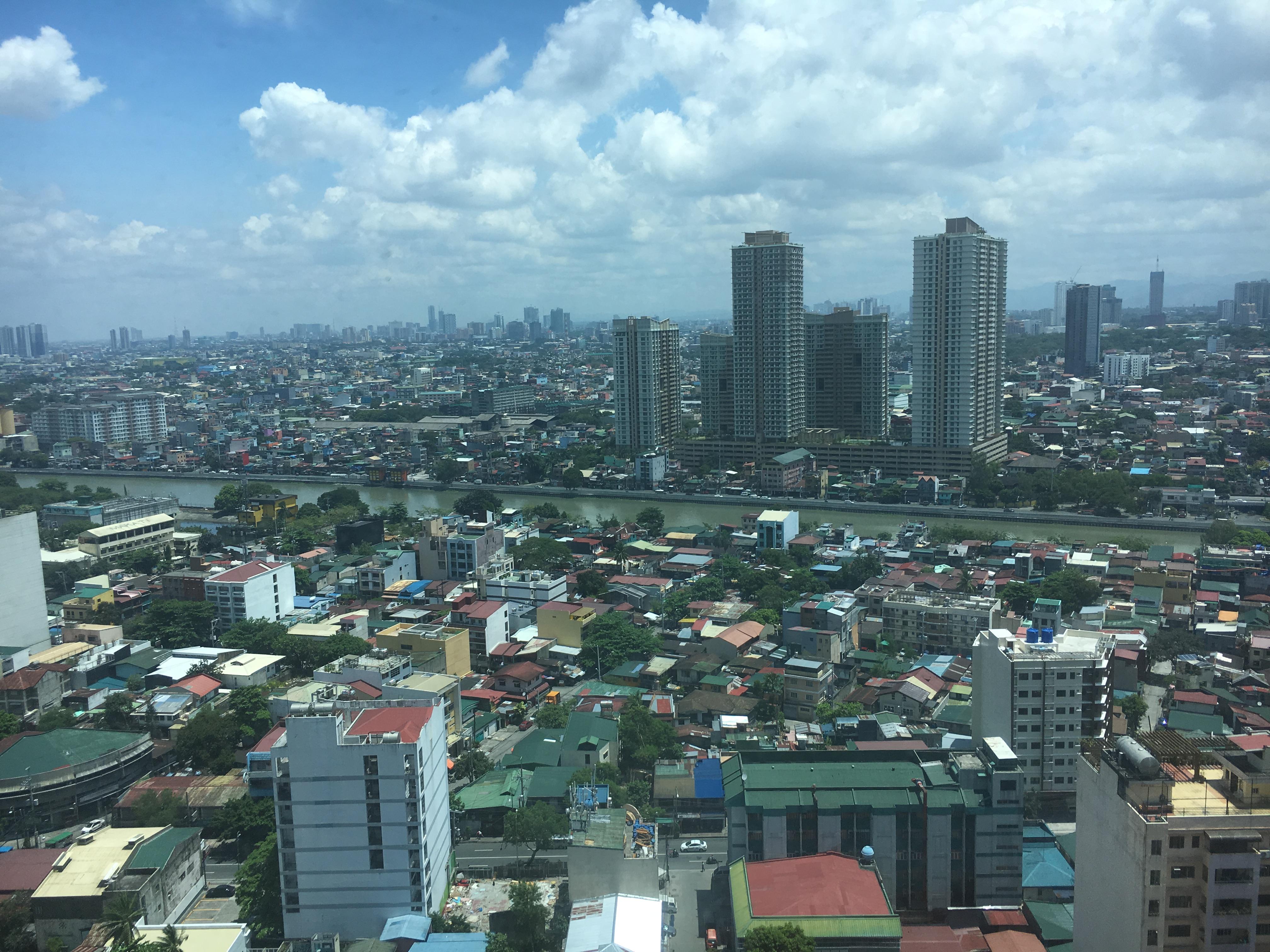 フィリピンマカティ物件からの景色 Ceturia Medical