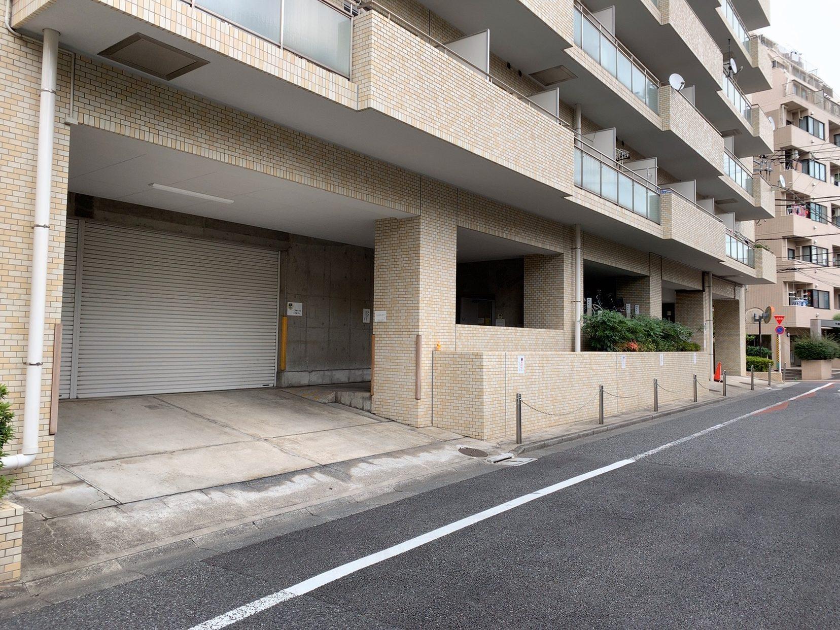 東京都文京区の売り駐車場 シャッター付で入居待ち多数